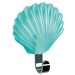 10.00640-Seashell-Klebehaken-clear mint