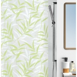 10.10410-Cane-Duschvorhang Textil-light green