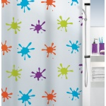 10.16133-Splash-Duschvorhang Plastik-multicolor