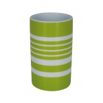 10.17276-Tube Stripes-Zahnbecher-kiwi-white