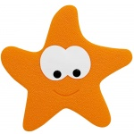 10.11357-Starfy-Wanneneinlage Mini-Mats-orange