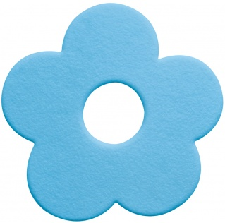 10.07082-Funky-Wanneneinlage Mini-Mats-light blue